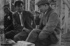 岸中士良前理事長(写真左)